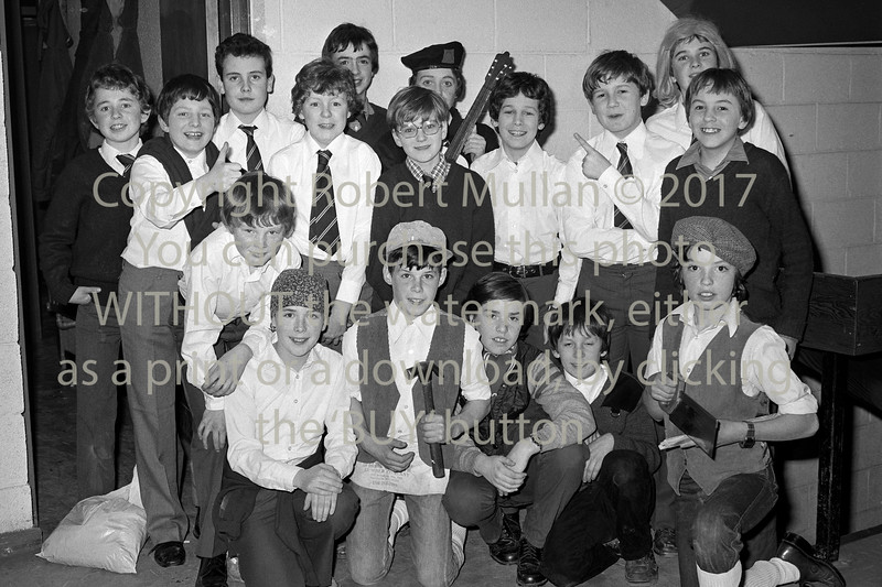 Youngsters taking part in a show in Wicklow.  Circa 1980s