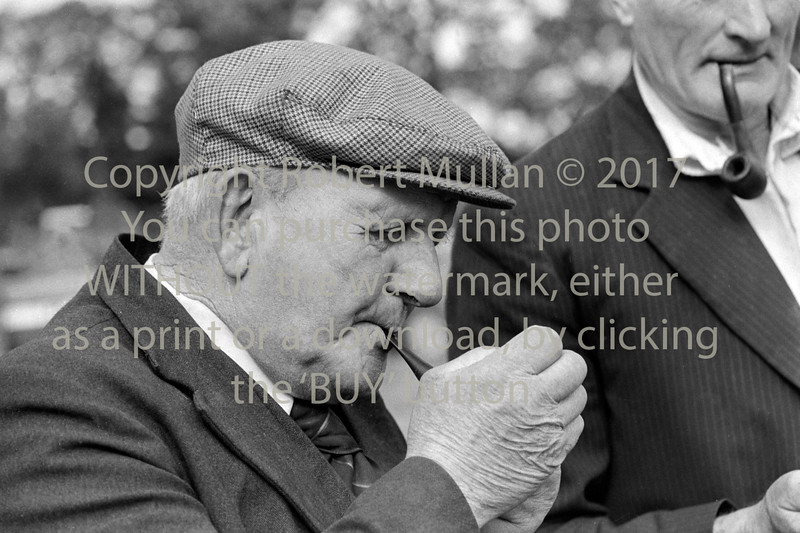 Frank Kavanagh of Wicklow at a ploughing match - 1980s/90s