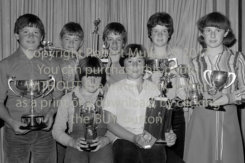Wicklow Swimming Club winners.  Circa 1980s