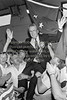 Liam Kavanagh with supporters after his election.  Date unknown