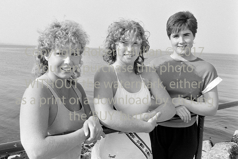 Swimmers at Wicklow.  Circa 1992
