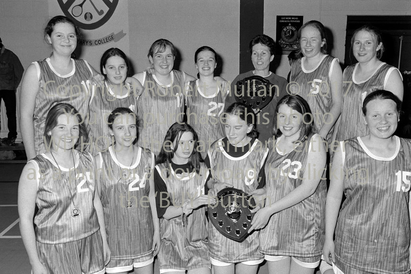 Basketball winners.  Date unknown