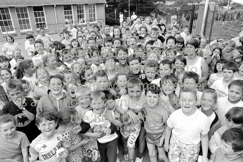 School children in Wicklow - 1980s/90s
