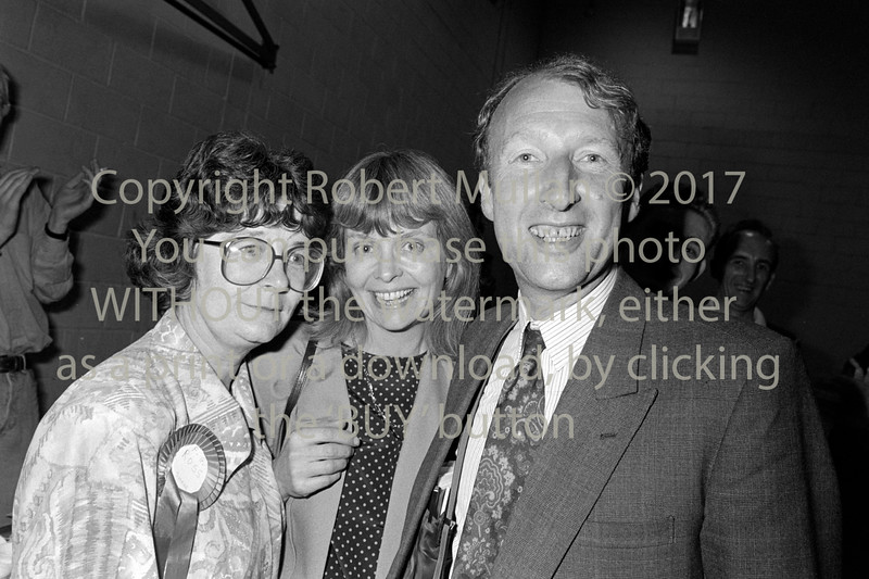 Shane Ross at an election count in Wicklow - 1980s/90s