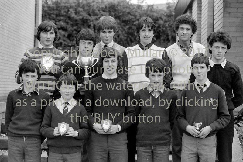 Group of prizewinners from De La Salle College, Wicklow - 1980s/90s