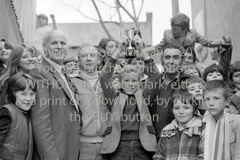 Group at Wicklow Boxing Club.  Circa 1980