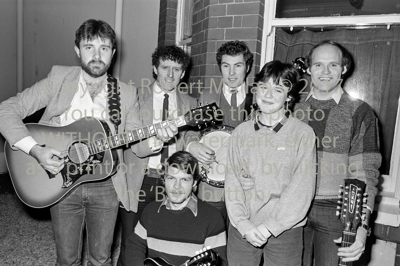 One of the local groups from Wicklow - I have no names I'm afraid - 1980s/90s