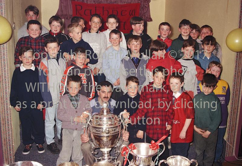 Boys at Rathnew GAA Club - circa 1990s