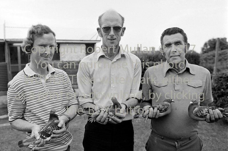 Pigeon Club winners.  Circa 1980s