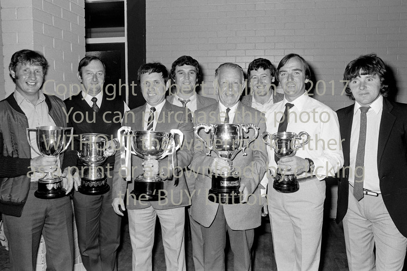 Soccer officials.  Circa 1993