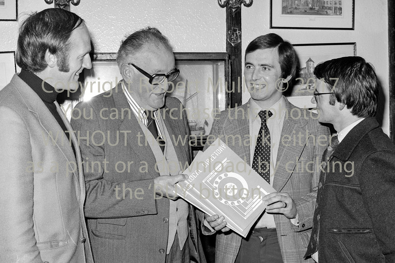 Launch of  St Patrick's GAA Club's telephone directory.  Date 1980