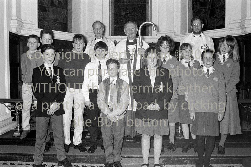Group at Wicklow Church of Ireland - 1980s/90s