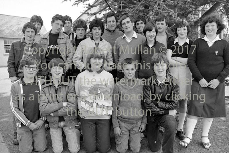 At Abbey Community College. Circa 1980s