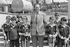 Jimmy Furlong (former ACC manager) with young hurlers - 1980s/90s