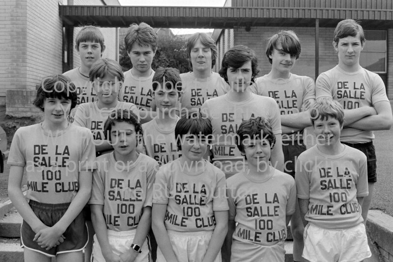 A group from De La Salle College, Wicklow - 1980s/90s