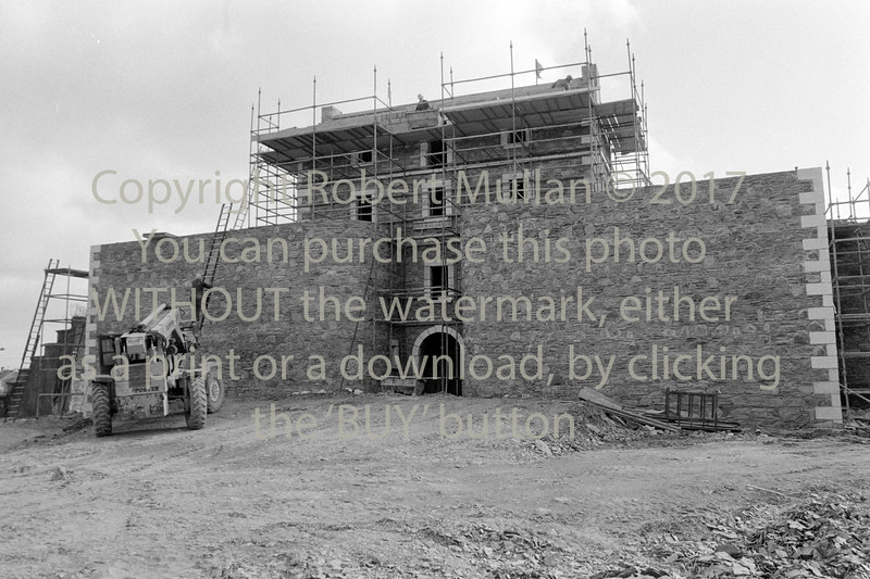 Construction work on Wicklow Gaol - 1980s/90s