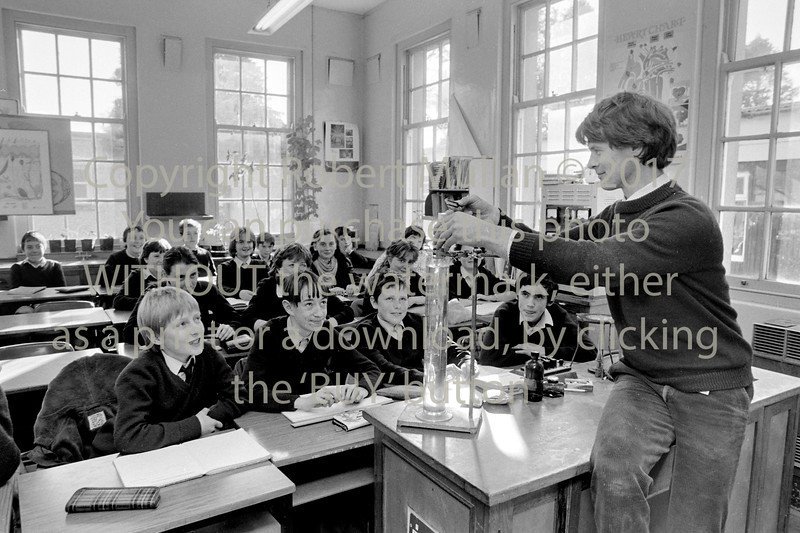 A class in Abbey Community College, Wicklow - circa 1980s/90s