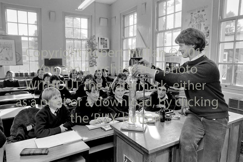 A class in Abbey Community College, Wicklow - circa 1980s/90s