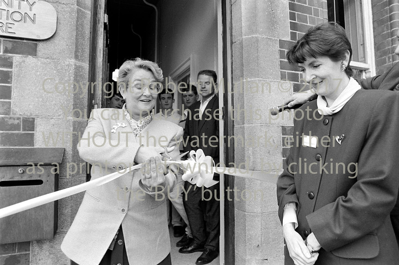 Minister for Education, Niamh Breathnach officially opened the Community Education Centre, Wicklow on the 6th of May 1994
