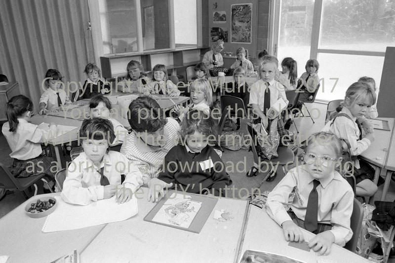 First day at school.  Date unknown