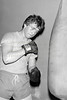 Martin (Murt) Murphy at Wicklow Boxing Club.  Circa 1980