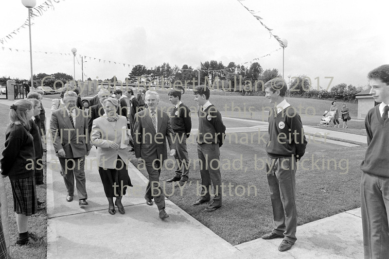 Minister for Education, Niamh Breathnach officially opened Avondale Community College, Rathdrum on the 6th of May 1994