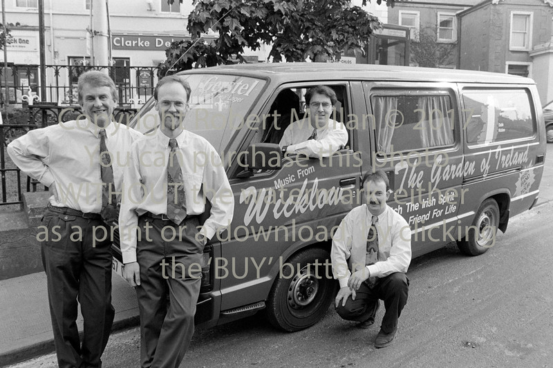 The Cantons pictured in Wicklow - 1980s/90s