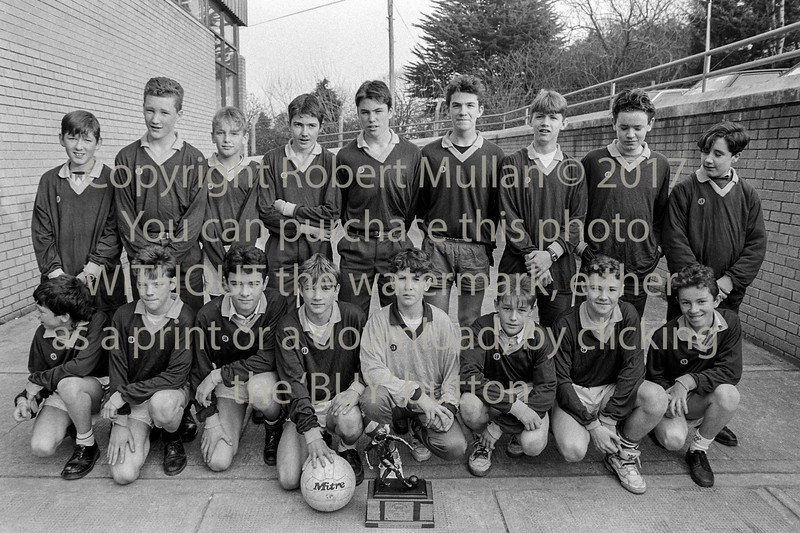 School football team from Wicklow - 1980s/90s
