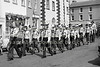 Scouts on parade. Early 1980s