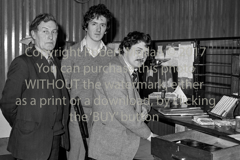 Staff at Wicklow Post Office.  Circa 1980