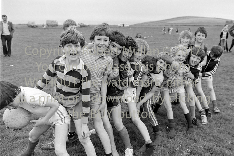 Wicklow lads at St Patrick's GAA Club.  Date unknown