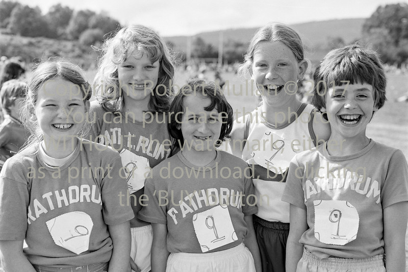 Youngsters from Rathdrum at the Community Games.  Circa 1990s