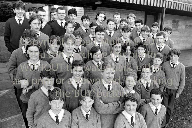 Boys at the De La Salle College, Wicklow - 1980s/90s