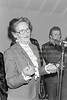 Maureen Gelletlie speaking at the official opening of the new clubhouse for Wicklow Tennis Club - 1980s/90s