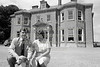 William Power and his wife were pictured when he took over Tinakilly House, Rathnew - 1980s/90s
