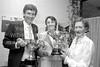 Gerard Keane, Geraldine Wynne and Maureen Gilletlie at Wicklow Tennis Club's Dinner - date unknown