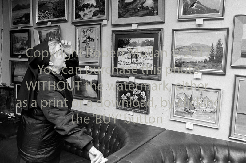 Art exhibition at Wicklow Golf Club - 1980s/90s