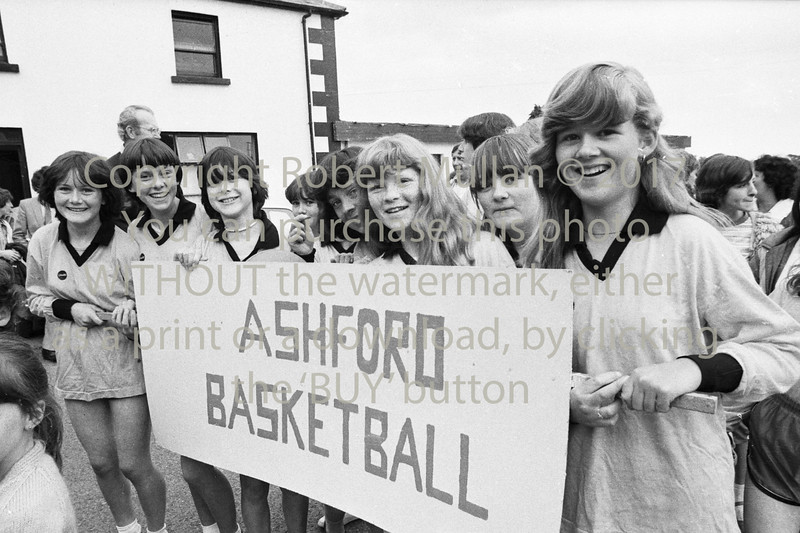 Young basketball players from Ashford - 1980s/90s