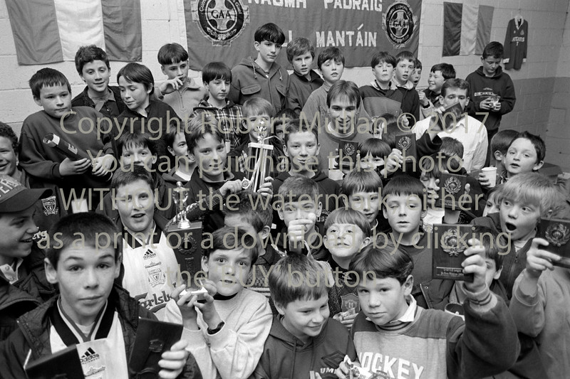 Boys at St Patrick's GAA Club, Wicklow - 1980s/90s