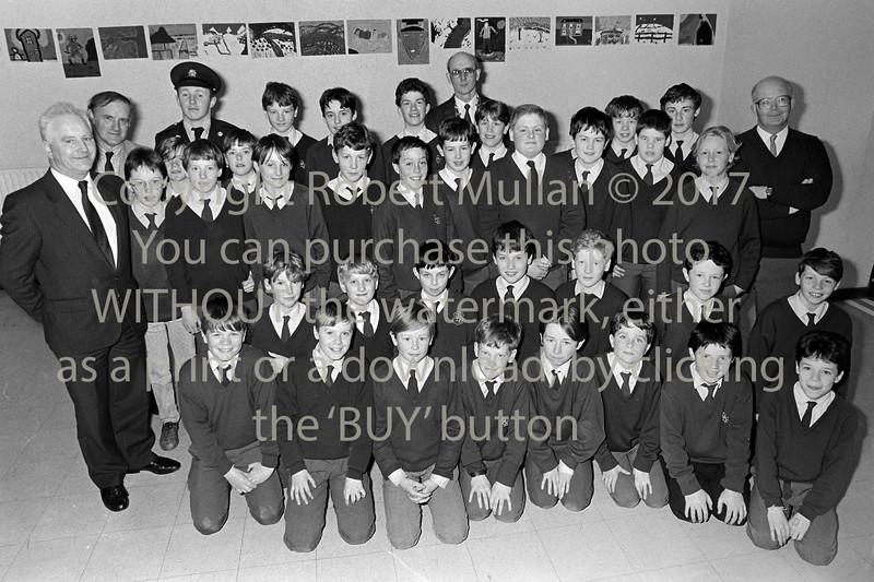 Junior School Wardens pictured in Wicklow - 1980s/90s