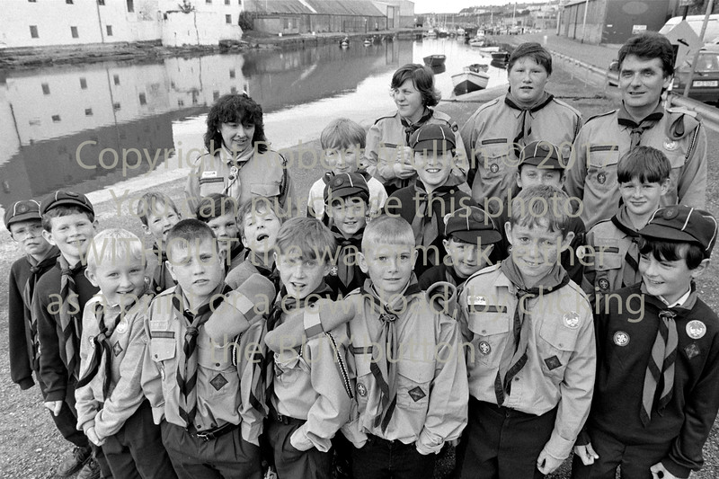 Scouts in Wicklow - 1980s/90s
