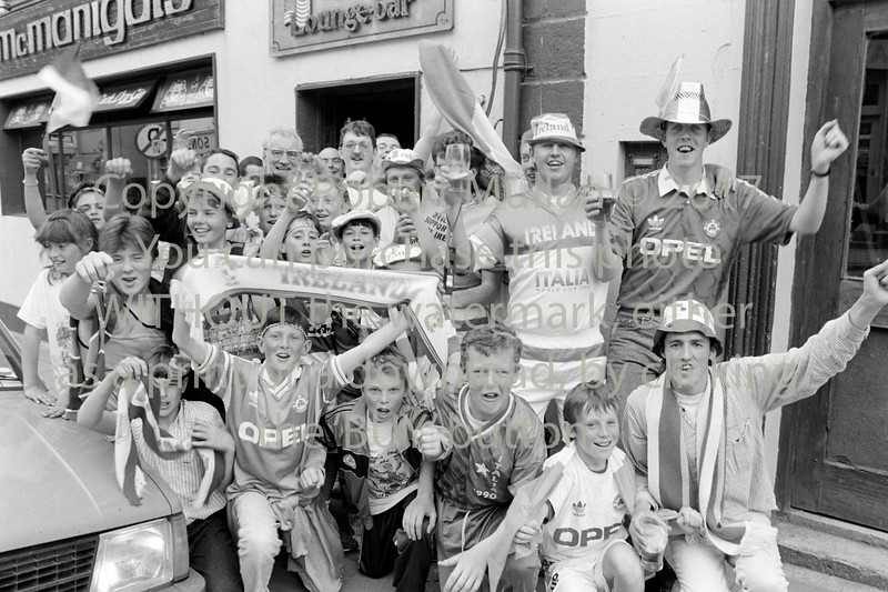 World Cup 'Italia 90' celebrations in Wicklow