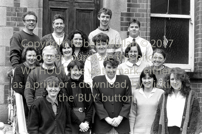 Group pictured at the Comunity Education Centre, Wicklow - 1980s/90s