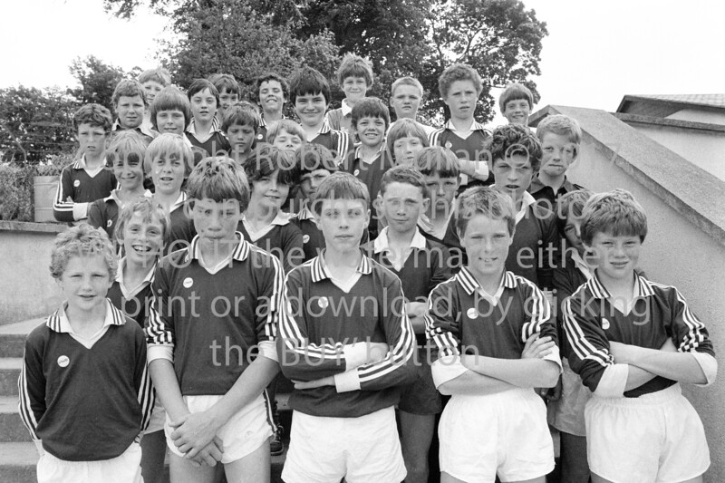 Group pictured at the De La Salle College, Wicklow - 1980s/90s