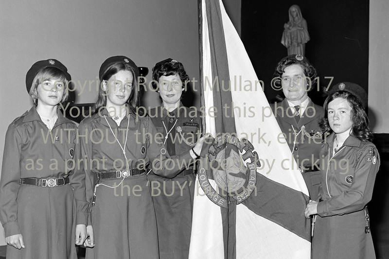 Wicklow Girl Guides.  Early 1980s