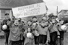 Youngsters from Avonmore FC at the St Patrick's Day Parade in Rathdrum - 1980s/90s