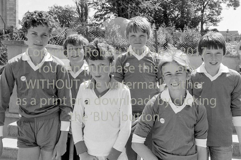 School team.  Circa 1993