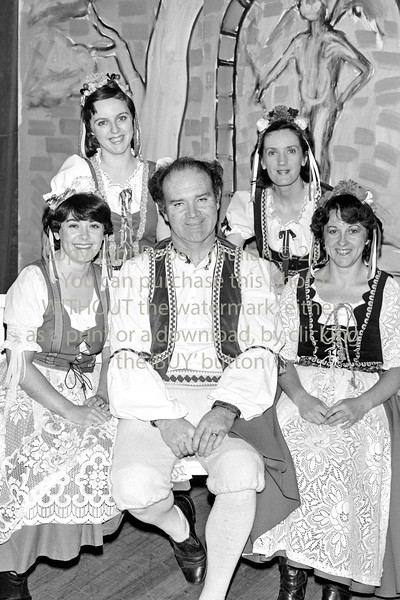 Wicklow Musical Society group.  Circa 1980