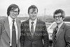 George Jones, Godfrey Timmins and Vincent McElheron.  Early 1980s