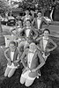 Majorettes pictured at the Mall, Wicklow - 1980s/90s